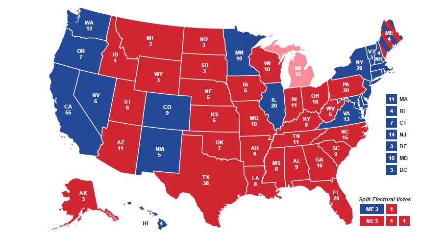 2016 Electoral Map  Final  Resistance Feed