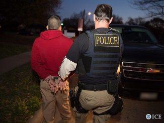 ICE captures illegals
